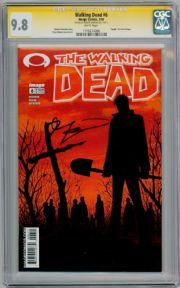 Walking Dead  #6 CGC 9.8  Signature Series Signed Robert Kirkman Image AMC TV